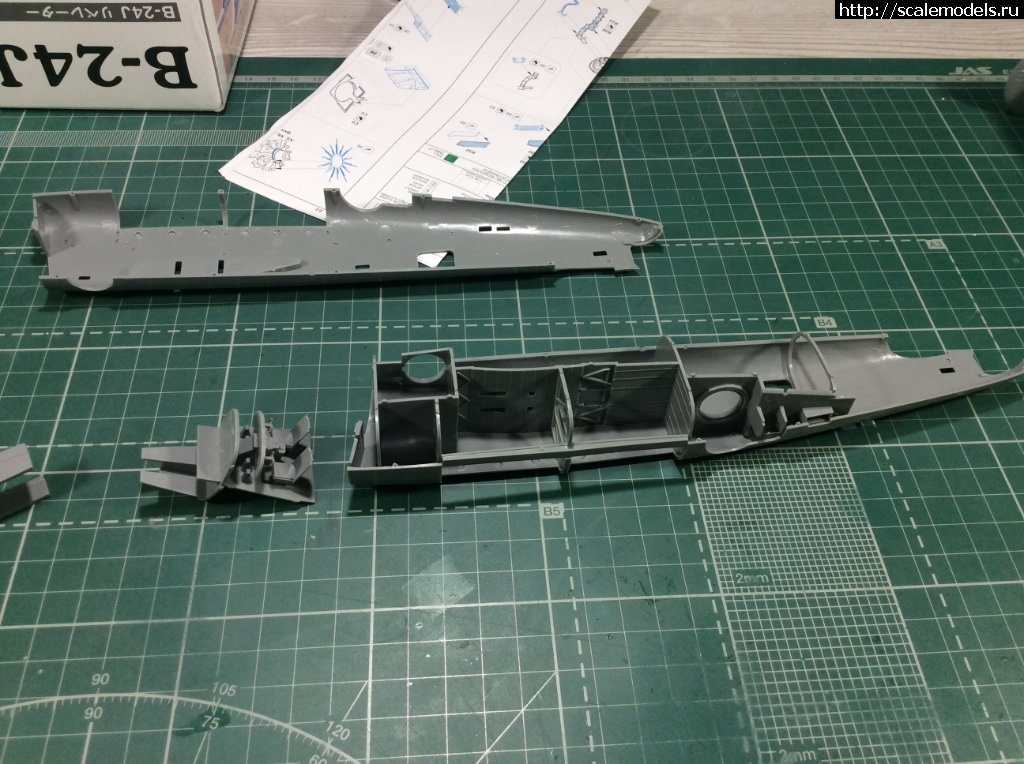 #1486921/ B-24J Hasegawa 1/72 ГОТОВО Закрыть окно