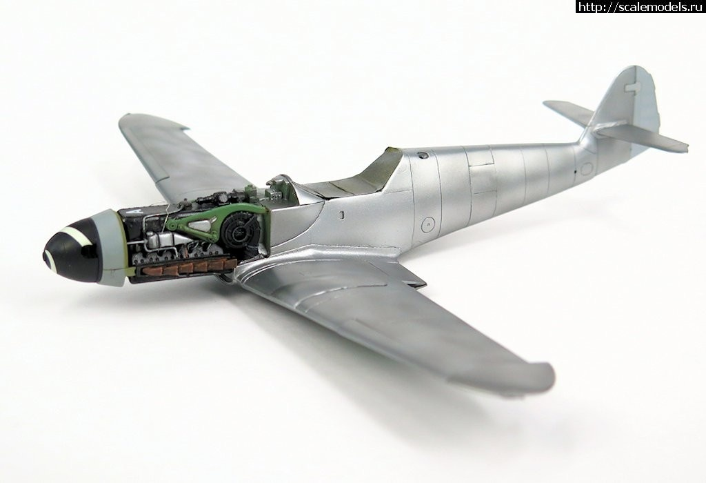 #1487584/ Bf.109G-10/K4 1/48 (Fujimi + Звезда + FM) - ГОТОВО Закрыть окно