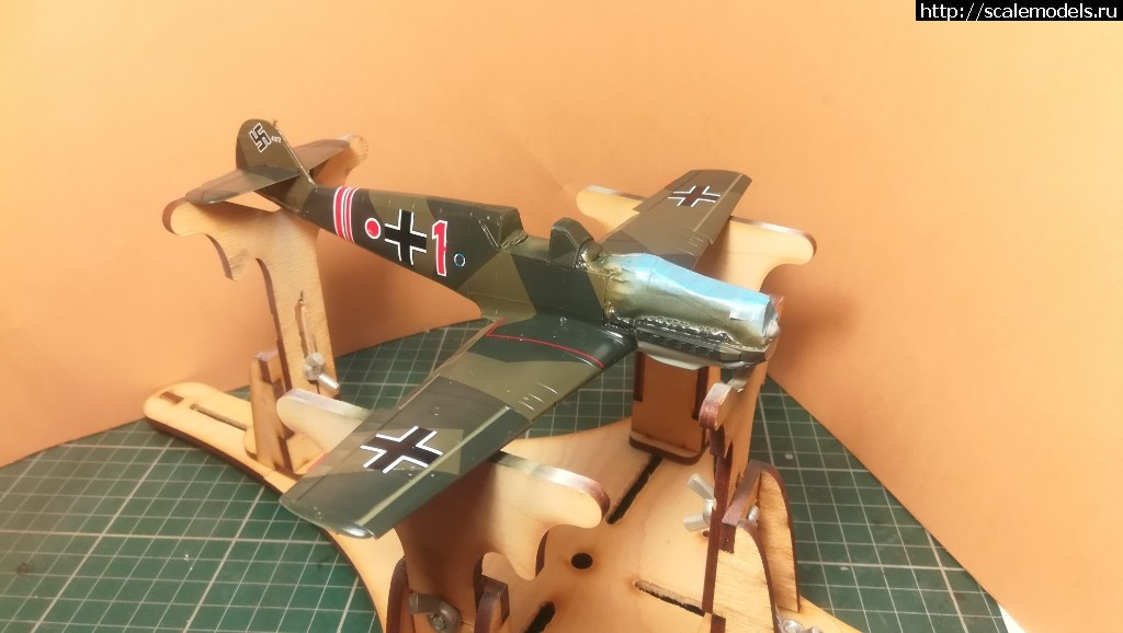 #1488637/ Bf 109E-1 Eduard 1/48 ГОТОВО! Закрыть окно