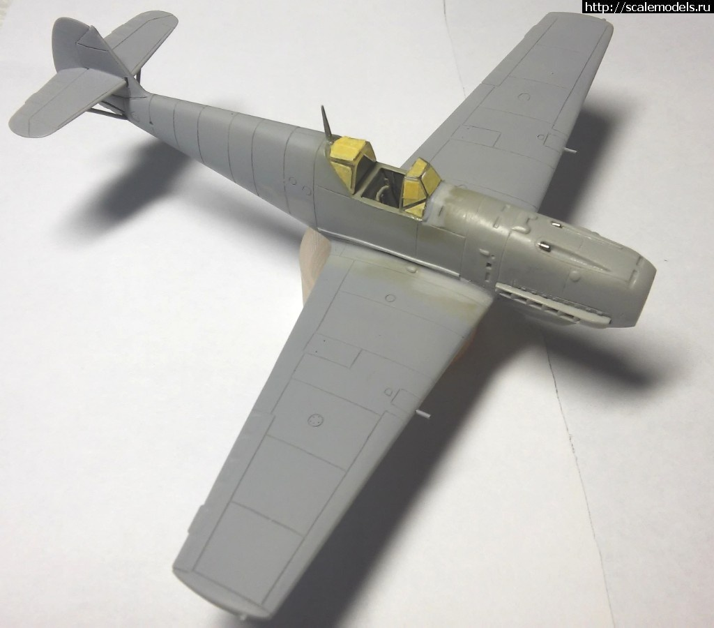 #1488739/ Bf 109 E4, Hobby Boss 1/72 - ГОТОВО Закрыть окно