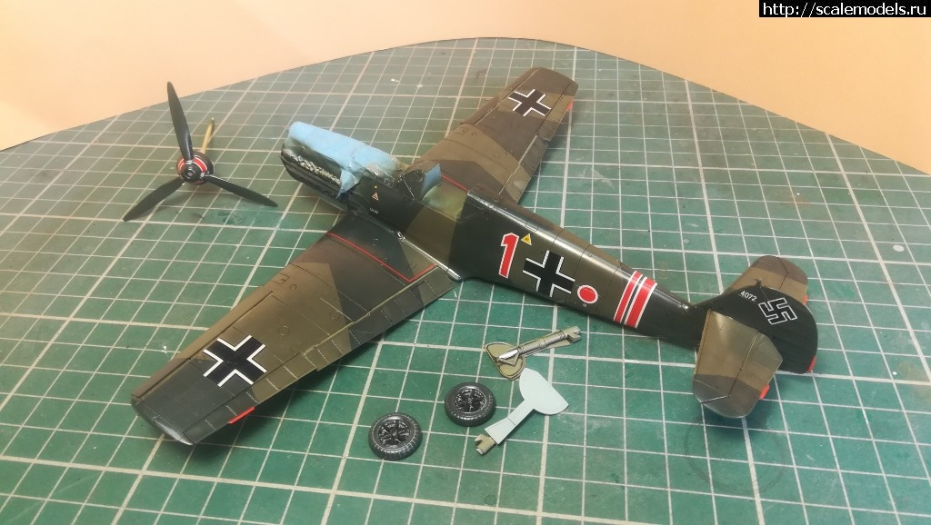#1489231/ Bf 109E-1 Eduard 1/48 ГОТОВО! Закрыть окно