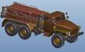 Анонс Kitty Hawk 1/48 Урал-4320 - 3D-рендеры