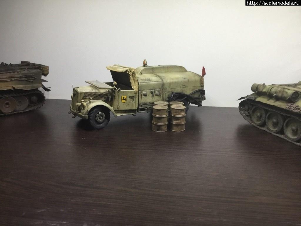 Italeri 1/35 Opel Blitz Tankwagen/ Italeri 1/35 Opel Blitz Tankwagen(#12238) - обсуждение Закрыть окно