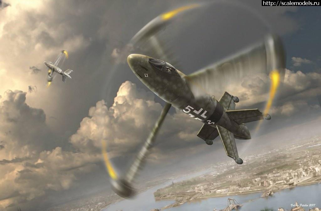 Анонс Amusing Hobby 1/48 Focke-Wulf Triebflugel  Закрыть окно