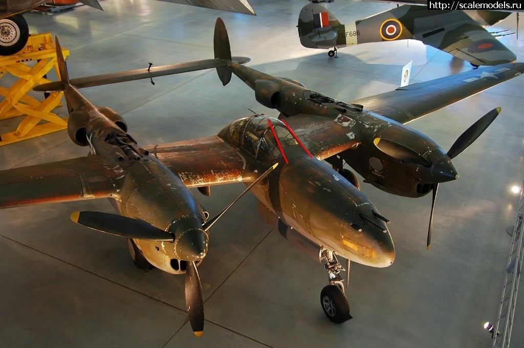 #1491264/ MPM/Academy 1/72 Lockheed P-38J-10-L...(#12245) - обсуждение Закрыть окно