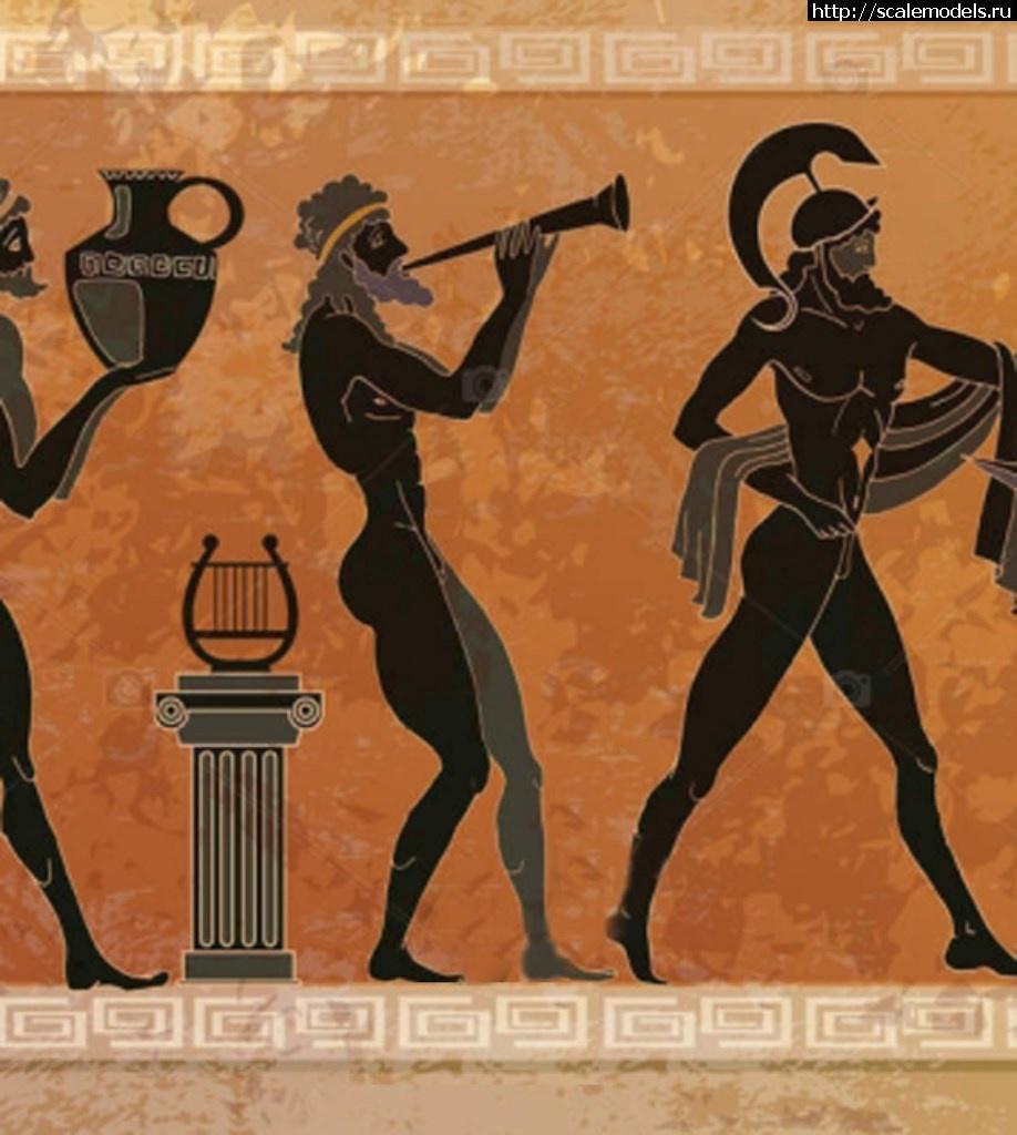 #1491374/ Греческий трубач, 5 век до н.э. Закрыть окно