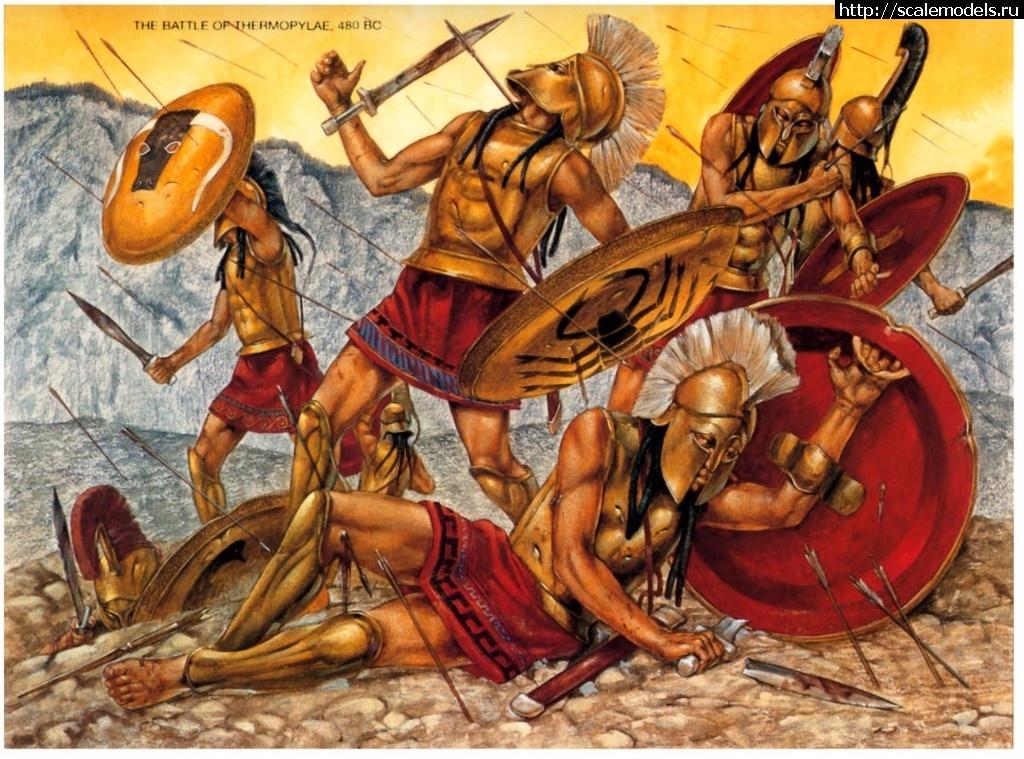 Лакедемонский командир. Греция, 5 век до н.э. Закрыть окно