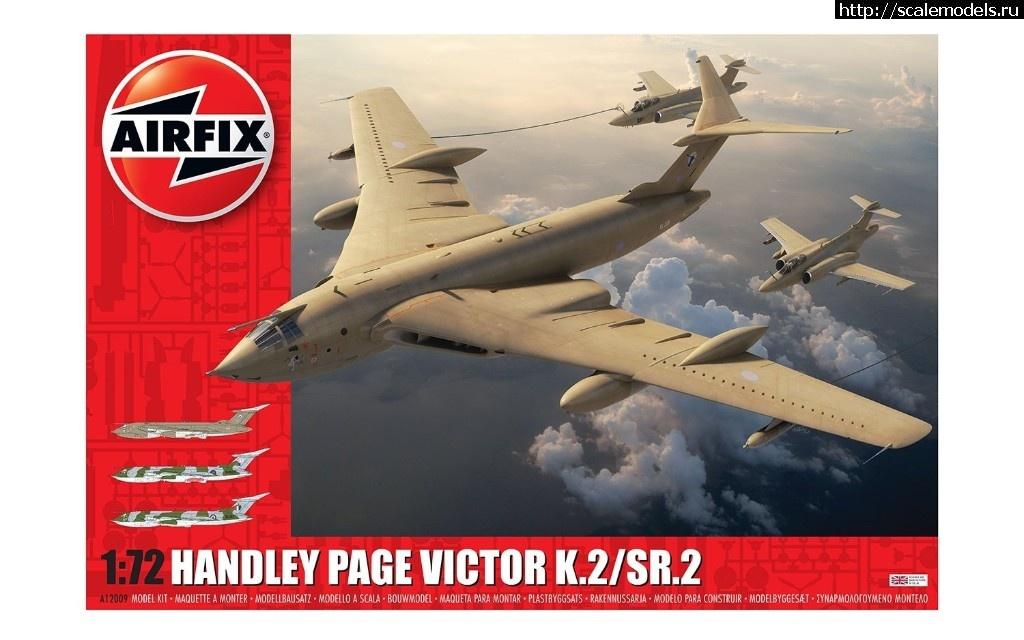 Анонс Airfix 1/72 топливозаправщик Handley Page Victor K.2 Закрыть окно