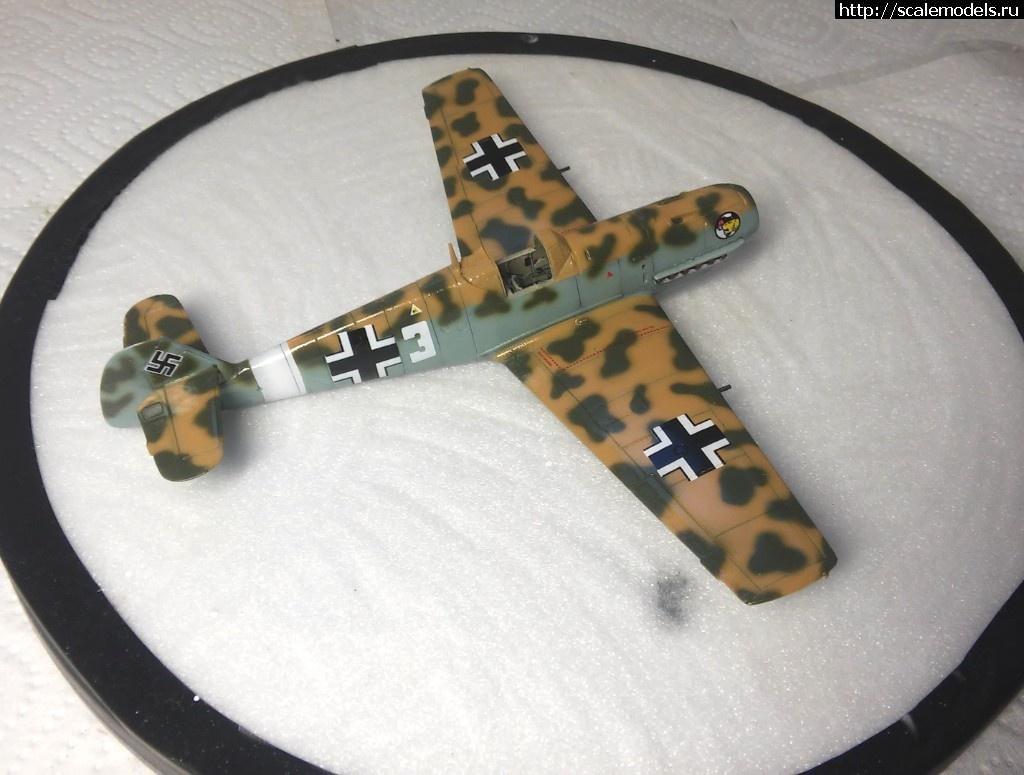 #1501110/ Bf 109 E4, Hobby Boss 1/72 - ГОТОВО Закрыть окно