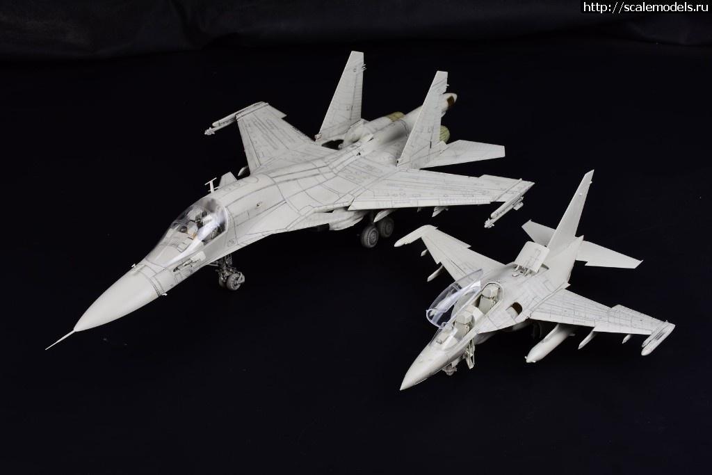 Анонс Kitty Hawk 1/48 Як-130 - тестовая сборка Закрыть окно