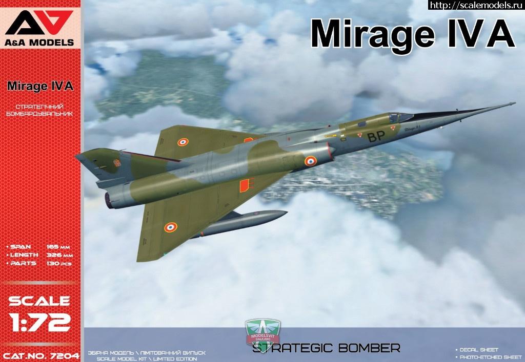 Анонс A&A в 1/72 Mirage IVA  Закрыть окно