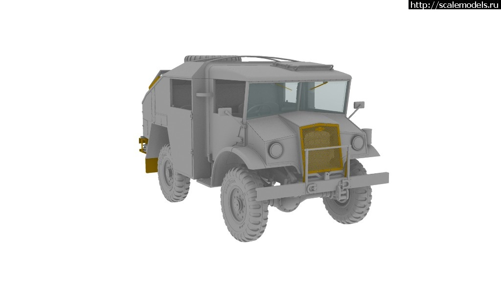 Анонс IBG Models 1/35 Chevrolet Field Artillery Tractor (FAT-4)  Закрыть окно