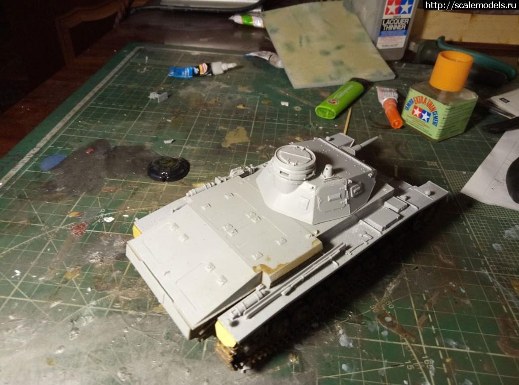 #1504019/ Pz-3 Ausf D Miniart 1\35 Готово! Закрыть окно