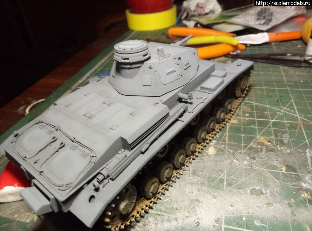 #1504496/ Pz-3 Ausf D Miniart 1\35 Готово! Закрыть окно