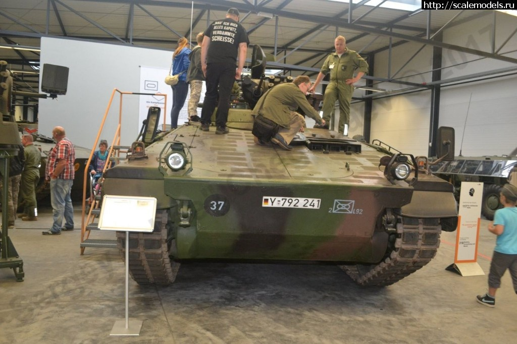 Walkaround БМП Marder 1A3, German Tank Museum, Munster, Germany Закрыть окно