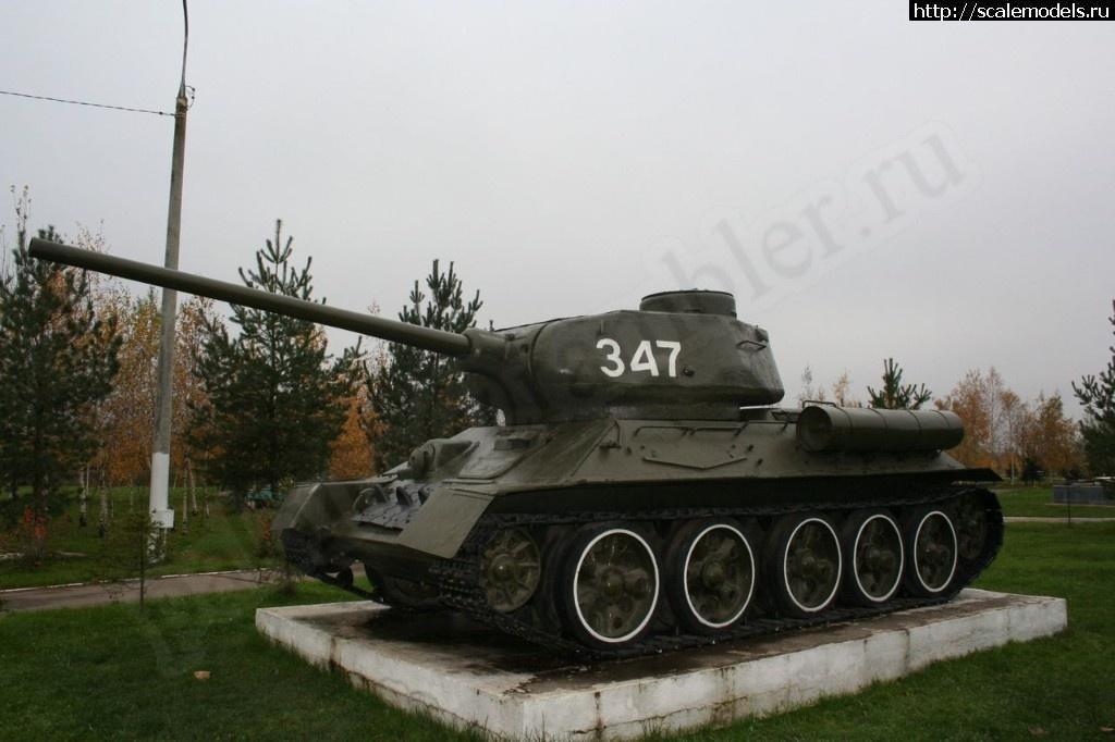 Walkaround средний танк Т-34-85, Крёкшино, Московская область, Россия Закрыть окно