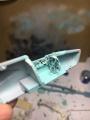 Звезда 1/72 Миг-23МЛД переделка в Миг-23М полет на малой