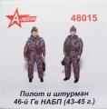 Анонс A-Resin 1:48 Пилот и штурман 46 Гв.НАБП 1943-45 гг.