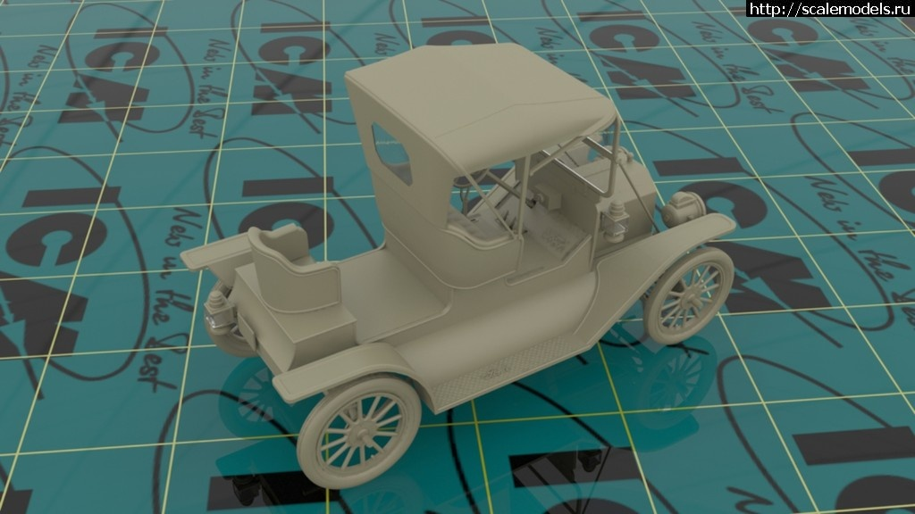 ICM 1/24 Model T 1912 Commercial Roadster, Американский автомобиль (рендеры) Закрыть окно