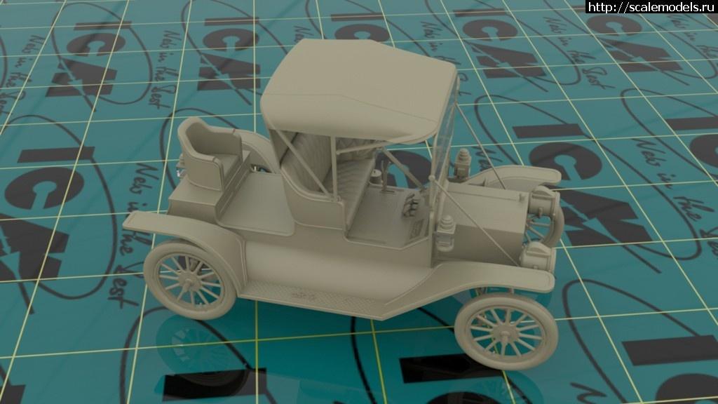 ICM 1/24 Model T 1912 Commercial Roadster, Американский автомобиль (рендеры) Закрыть окно