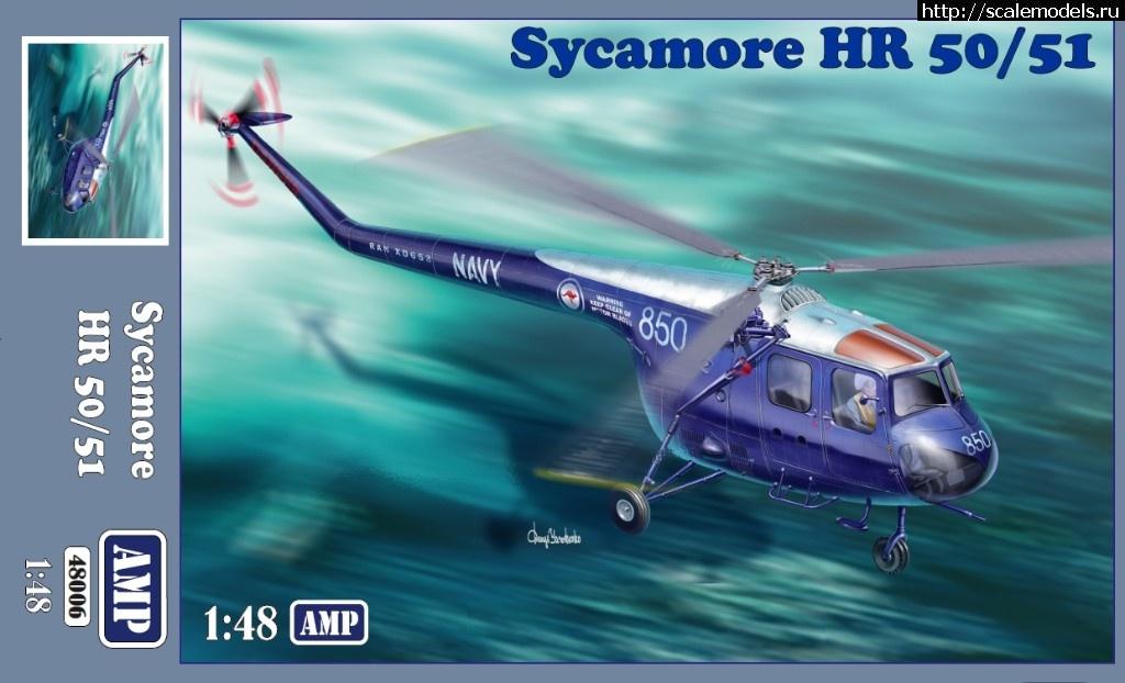 1/48 Bristol Sykamora  HR 50/51 от AMP Закрыть окно