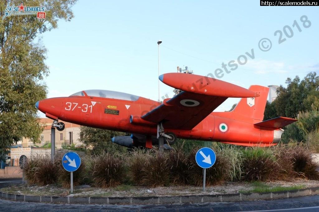 Walkaround Aermacchi MB-326, Catania, Sicilia, Italy Закрыть окно