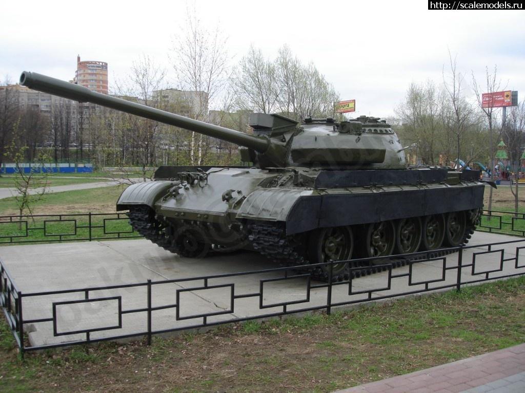 Walkaround средний танк Т-55АМ, Сквер им. Марии Рубцовой, Химки, Московская область, Россия Закрыть окно