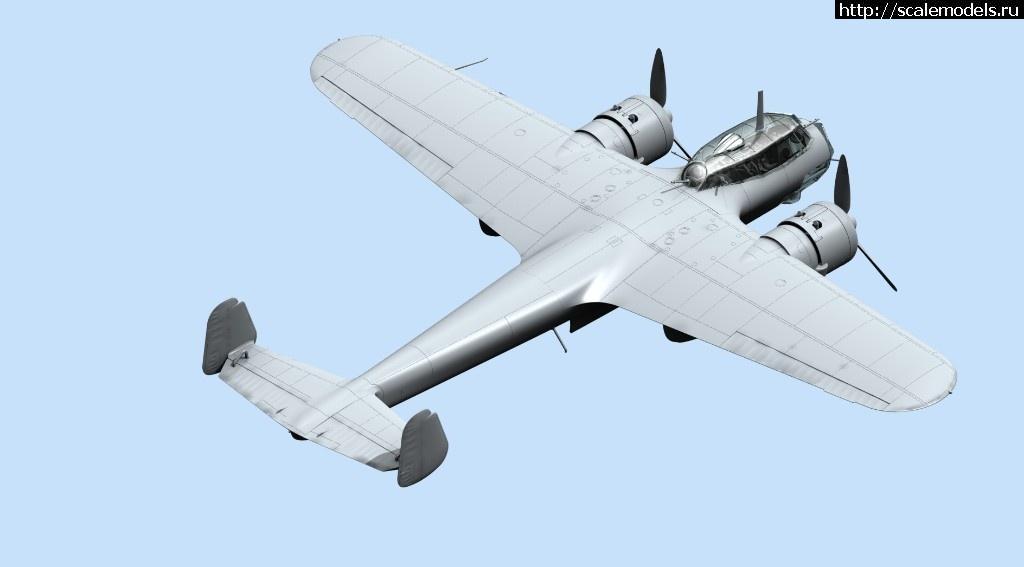 ICM 1/72 Do 17Z-2, Бомбардировщик ВВС Финляндии ІІ МВ (рендеры+отливки) Закрыть окно