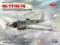 ICM 1/48 He 111H-16, Германский бомбардировщик ІІ МВ (отливки)