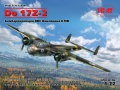 ICM 1/72 Do 17Z-2, Бомбардировщик ВВС Финляндии ІІ МВ (рендеры+отливки)