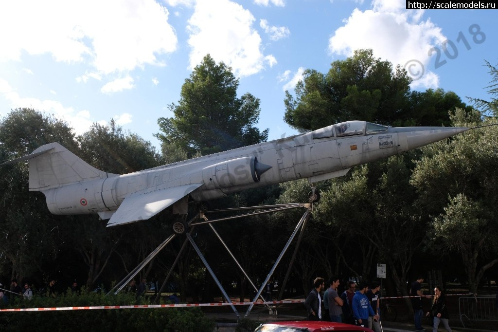 Walkaround Aeritalia (Lockheed) F-104S ASA-M Starfighter, Universita degli Studi di Palermo, Sicilia Закрыть окно
