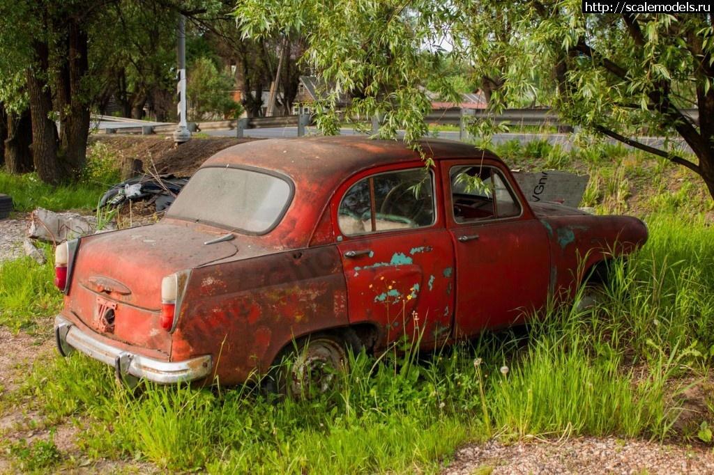 Walkaround Москвич-407 выпуска 1958-1960 гг., Вышний Волочек, Тверская область, Россия Закрыть окно