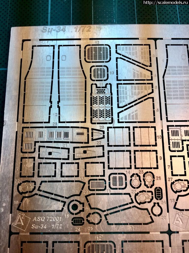 A2-squared 1/72 Набор травления на Су-34 Trumpeter Закрыть окно