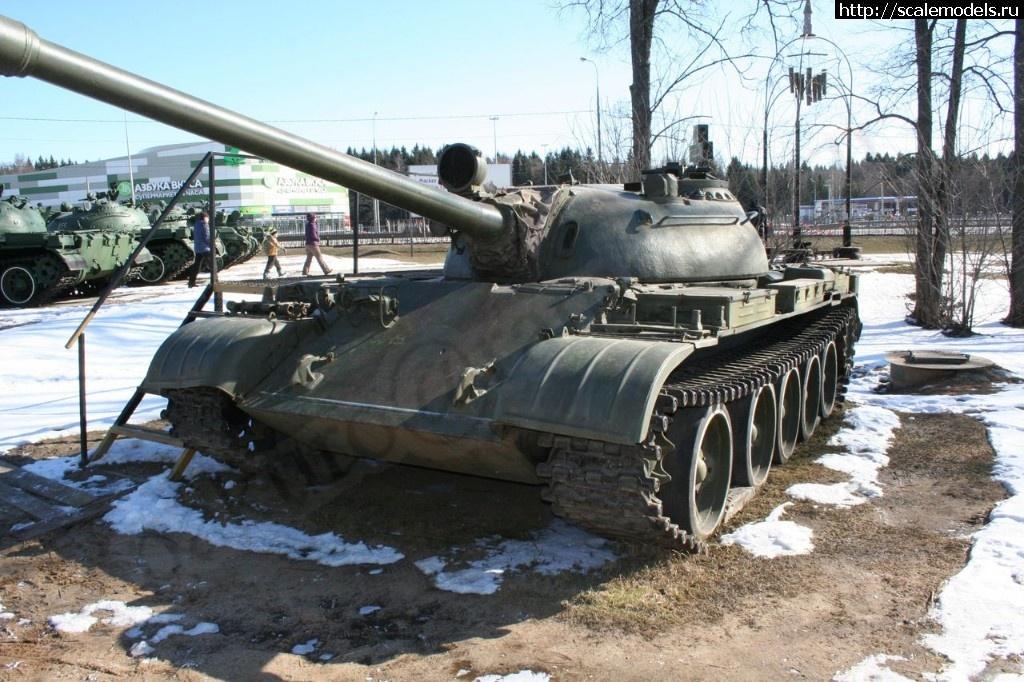 Walkaround средний танк Т-55, Музей истории танка Т-34, Шолохово, Московская область, Россия Закрыть окно