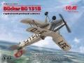 Анонс ICM 1/32 Германский учебный самолет Bucker Bu 131B - рендеры