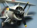 Heller 1/72 SBC-4 Helldiver - Последний биплан фирмы Curtiss