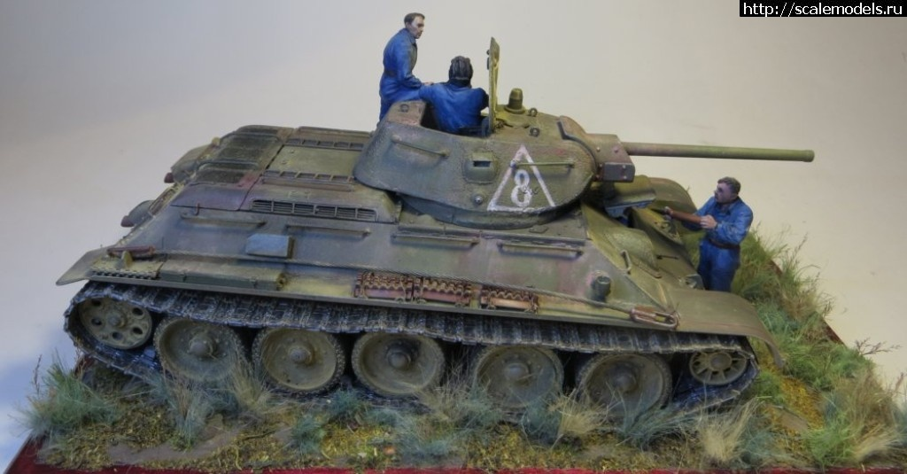 """#1525196/ Т-34 """"Красное Сормово"""" 1942 год. Готово! Закрыть окно"""