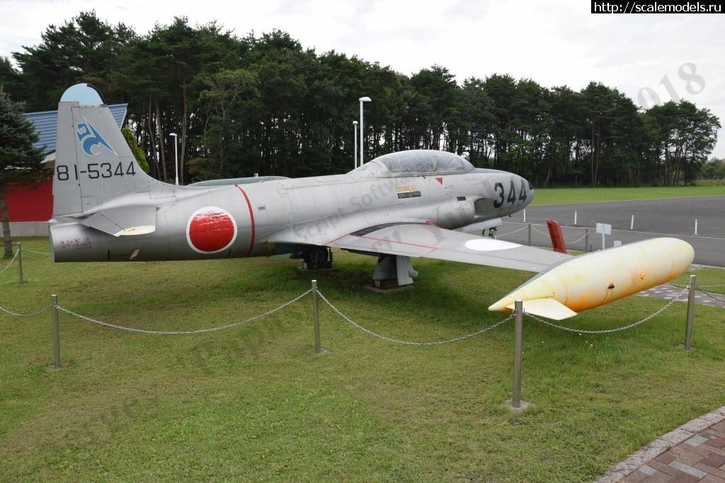 Walkaround Kawasaki T-33A JASDF r/n 81-5344, Misawa, Japan Закрыть окно