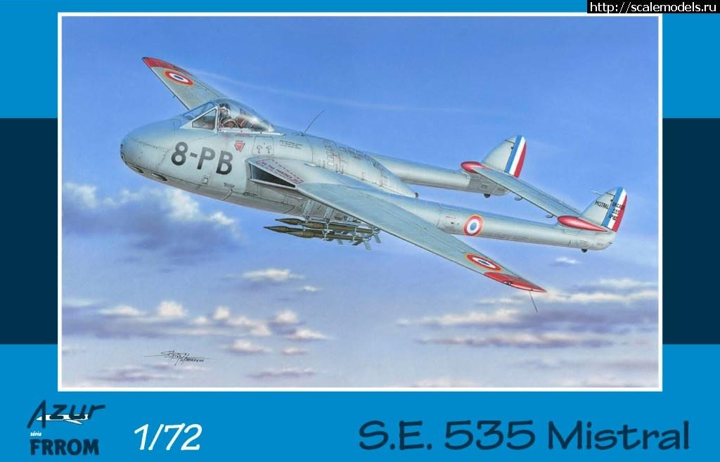 Анонс Azur-Frrom 1/72 Sud-Est S.E. 535 Mistral Закрыть окно