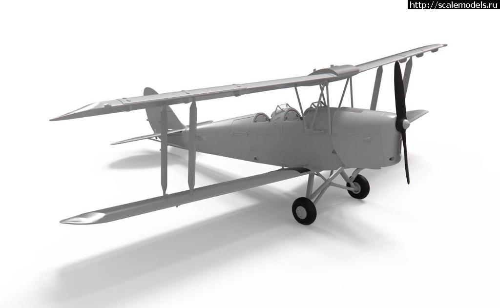 Анонс Airfix 1/48 de Havilland D.H.82a Tiger Moth Закрыть окно