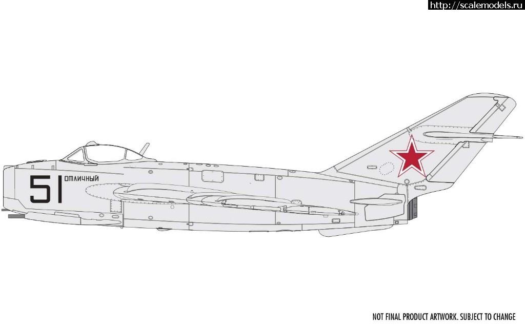 Анонс Airfix 1/72 МиГ-17Ф - 3d-рендеры Закрыть окно