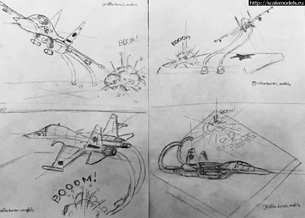 #1530824/ Cу-34 Kitty Hawk 1/48 - Селезень в песочнице ГОТОВО Закрыть окно