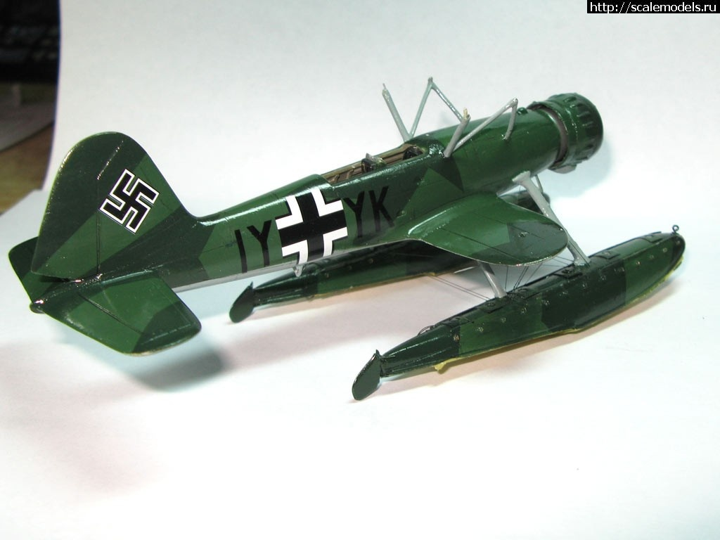 #1531008/ Heinkel He 114A  Mach2 1:72 - Выстругаем буратина!!!  ГОТОВО Закрыть окно