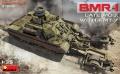 Анонс MiniArt 1/35 боевая машина разминирования БМР-1 с тралом КМТ-7