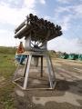 Walkaround реактивный бомбомёт РБУ-2500 Смерч, Музей военной техники Военная горка, Темрюк, Россия