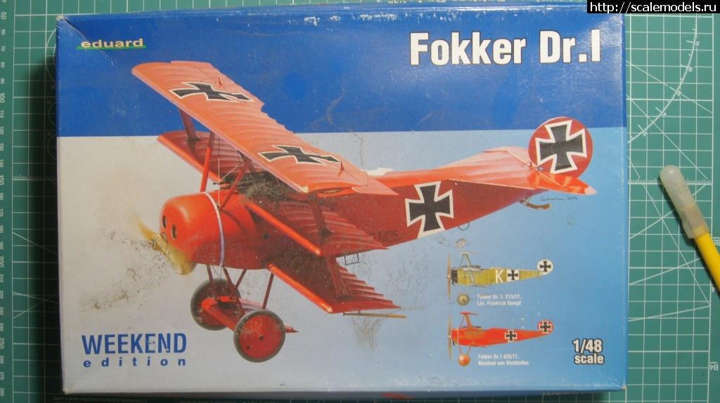 "Eduard 1/48 FokkerDr.I""Kennscht mi noch?""- ГОТОВО! Закрыть окно"