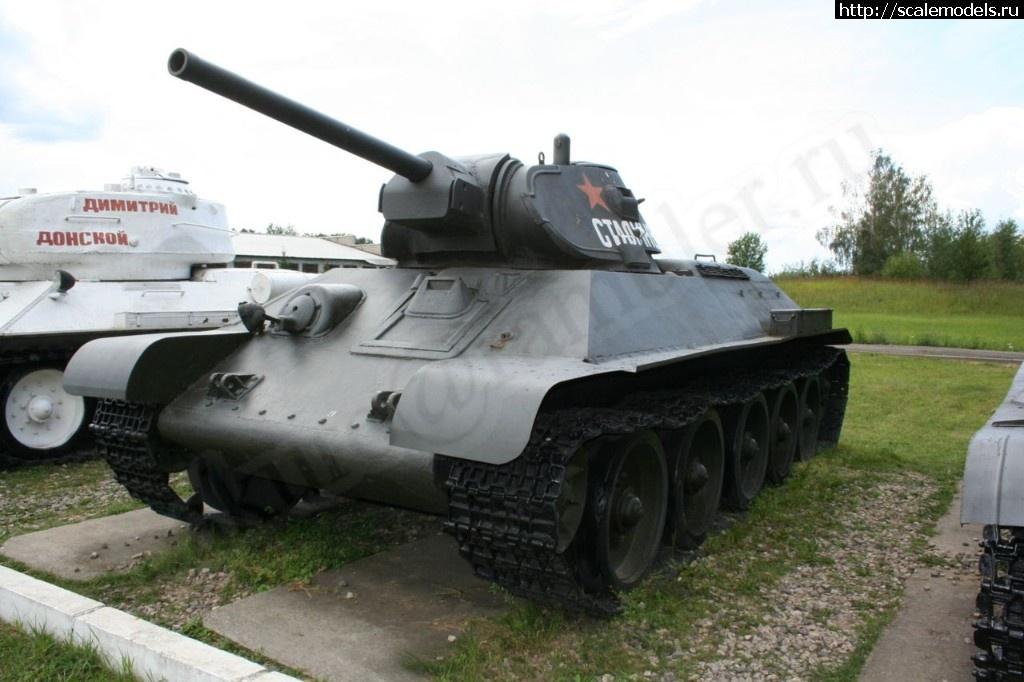 Walkaround средний танк Т-34-76, Музей бронетанкового вооружения и техники, Кубинка, Россия Закрыть окно