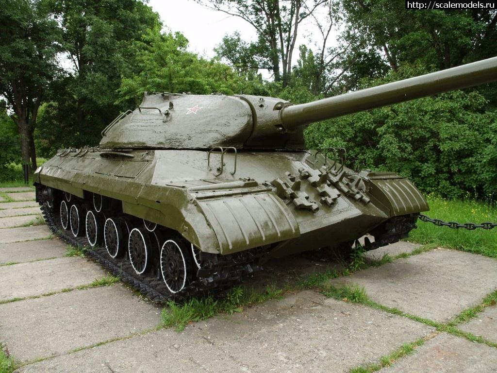 Walkaround тяжелый танк ИС-3М, Мемориал Вечный огонь славы, Майкоп, Адыгея, Россия Закрыть окно