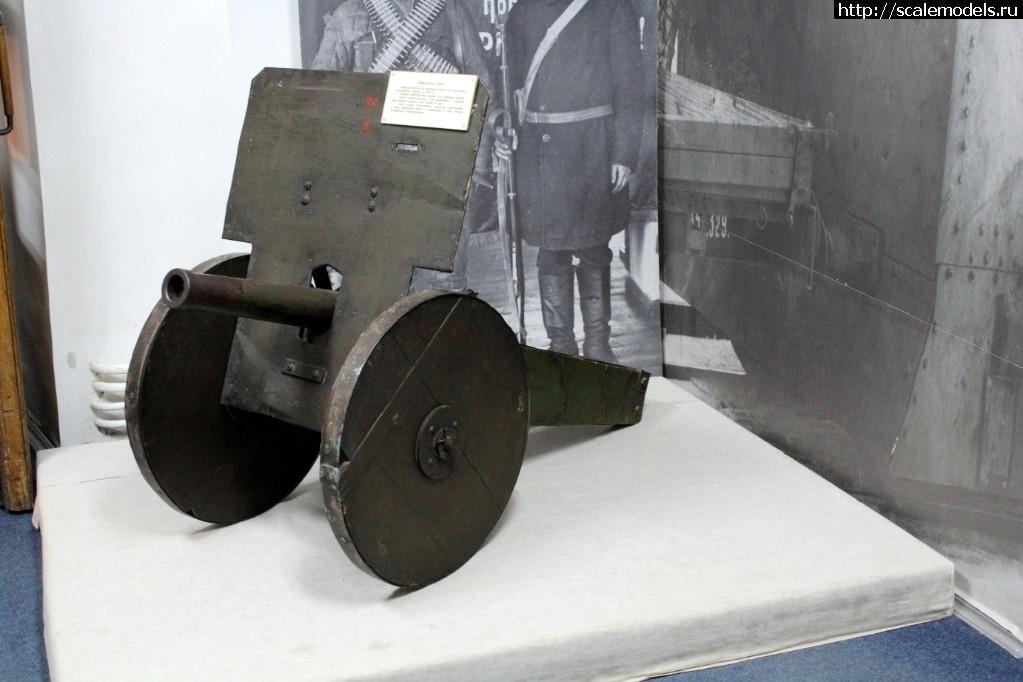 Walkaround самодельная 50-мм пушка, Музей артиллерии инженерных войск и связи, Санкт-Петербург Закрыть окно