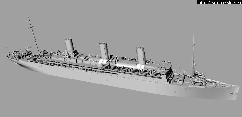 Анонс Комбриг 1/700 лайнер SS Leviathan/Vaterland - 3D-рендеры Закрыть окно